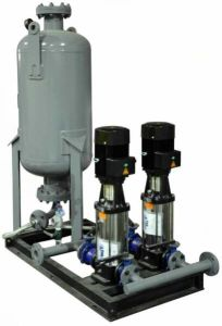 Constant Pressure Water Supply System with Water Tank