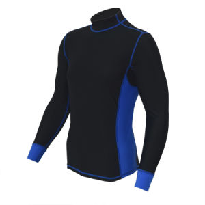 Men Customized Color Long Sleeve Rash Guard Lycra Fitness Sportswear pictures & photos