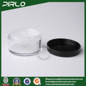 20g 20ml Plastic Cosmetic Powder Jar with Sifter and Thread Lid pictures & photos