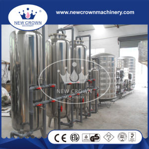 Stainless Steel Drinking Water Purification Line pictures & photos