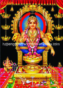 Gold Foil Picture, Muslim Scripture, Indian God Picture, Jesus Portrait, Scroll Painting pictures & photos