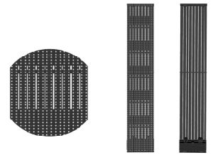 Outdoor LED Curtain/Mesh/Grid Display pictures & photos