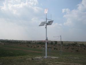 300W Vertical Wind Turbine Generator Use for Wind Solar Street Light System pictures & photos