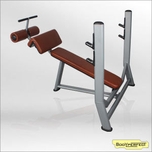 Body Strong Fitness Equipment Dncline Olympic Bench/Wieght Free Chest Press Bench/Commerical Sport Machine Olympic Bench Press Bft-3032 pictures & photos