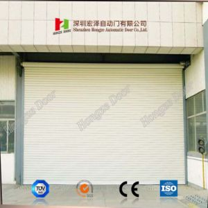 Remote Control Steel Fast Interior Automatic Open Style Roller Shutter Rolling Door Parts (Hz-FC0542) pictures & photos