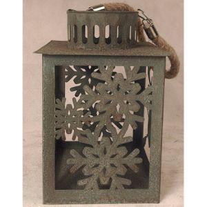 Antique Blue Tin Metal Garden Home Lantern Christmas Lantern pictures & photos