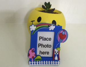 Soft PVC Photo Frame Keychain & Keyring pictures & photos