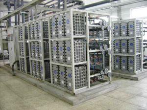 Customized Reverse Osmosis EDI Electrodeionization Treatment Plant pictures & photos