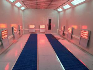 European Design Infrared Heating Spray Booth pictures & photos