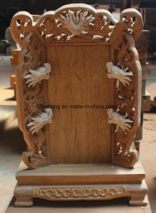 Chinese Style Hand-Made Wooden Carving pictures & photos