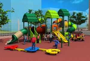 2017 New High-Quality Outdoor Playground Equipment Slide (HD17-012A) pictures & photos