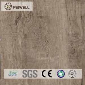 Anti Slip V Grooved Luxury Vinyl Flooring Cost pictures & photos