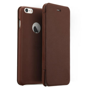 PU Leather Plastic Mobile Phone Case for iPhone 5/6/7 pictures & photos