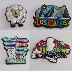Wholesale Promotional Custom 3D Cartoon Soft PVC Fridge Magnet pictures & photos