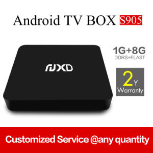 New Model X6 Amlogic S905 1g+8g Android TV Box pictures & photos