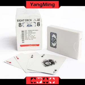 MOQ 5k Casino Custom Playing Card Casino Black/ Blue Core Paper Manufacturer Custom Trading Cards Ym-PC03 pictures & photos