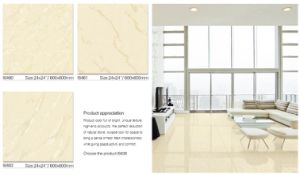 600X600mm Polished Floor Tile Soluble Salt Tile Marble Tile with Best Price (I6413) pictures & photos