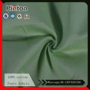 100% Cotton Pants Fabric 235GSM 21*16 128*60 pictures & photos
