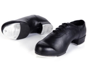 Custom High Quality PU Irish Step Tap Dance Shoes pictures & photos