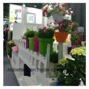 Balcony Planter Plastic Plant Pots Wholesale, Railing Planter, Color PP Plastic Planters pictures & photos