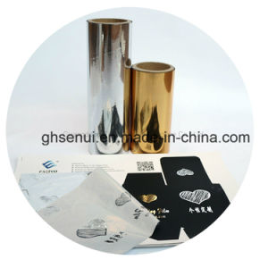 Sleeking Film for Digital Prints-15mic Gold Color or Silver Color pictures & photos