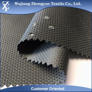 PU Coated W/R W/P Polyester Chain Dobby Jacquard Oxford Fabric for Bag, Backpack pictures & photos
