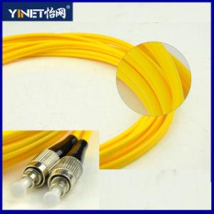 FC/Upc to FC/Upc Simplex Fiber Patch Cord 652D Single Mode pictures & photos