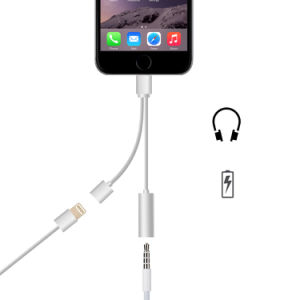 Lightning to 3.5mm Music Charging 2 in 1 Adapter pictures & photos