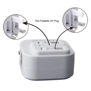 Portable UK Plug Wall Charger Adapter Smart Car Charger pictures & photos