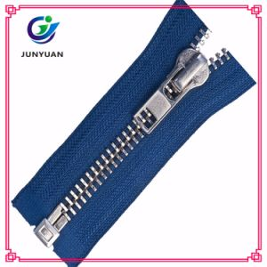 Metal Close End Lock Jeans Zipper Supplier with Antique Slider pictures & photos