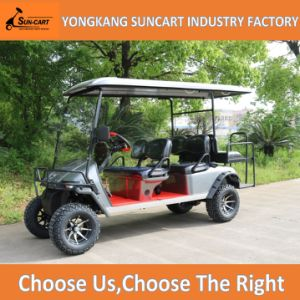 Wholesale Battery Powered 6 Seater Golf Cart pictures & photos