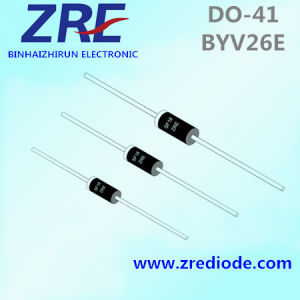 1A Byv26A Thru Byv26e Super Fast Recovery Rectifiers Diode Do-41 Package pictures & photos