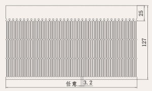 Aluminum Profile Heat Sink with Anodizing pictures & photos