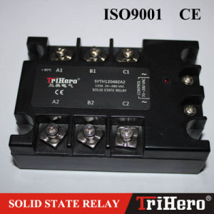 AC/AC Solid State Relay SSR 3-Phase, SSR-3 AA80 pictures & photos