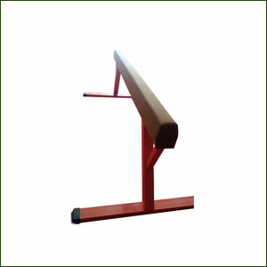 High Grade 5m Gymnastics Wooden Balance Beam for Sale pictures & photos