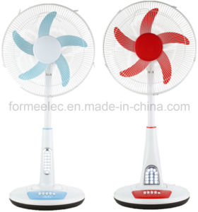 "18"" AC DC Fan 15W Desk Fan 5 Blade Electrical Fan pictures & photos"