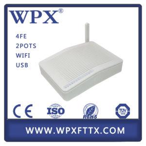 FTTH Epon ONU VoIP Fast Ethernet Optic Fiber pictures & photos