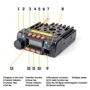 200 Channels FM Radio UHF/VHF Dual Band CB Radio pictures & photos