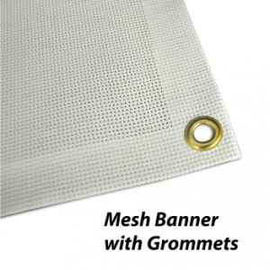 Custom Outdoor Advertising Signage Mesh Banners pictures & photos