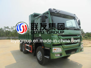 China Sinotruk HOWO Dump Truck 6X4 Tipper with 371HP pictures & photos
