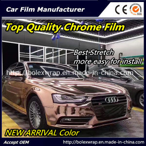 New Arrival Color~~ Top Quality Mirror Chrome Car Vinyl Wrap Vinyl Film pictures & photos