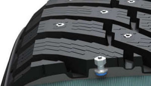 Anti-Skid Studs for Trucks Tyre in Winter pictures & photos