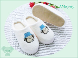 Indoor Home Warm Pretty Animal Plush Children Slippers pictures & photos