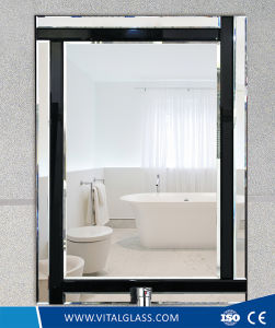 Polished Decoration Mirror/Tinted Silver Dress Mirror pictures & photos