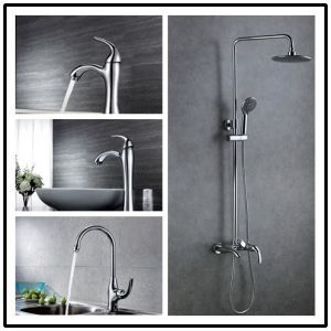 Single Lever Countertop Basin Faucet pictures & photos