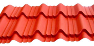 Roof Building Material Galvanized Color Glazed Roof Tile pictures & photos