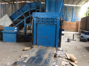 Hpa100 Series of Horizontal Paper/Plastic Basic Baler pictures & photos