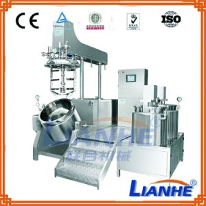 Vacuum Cosmetic/Pharmaceutical Liquid Cream Making Machine with Mixer Homogenizer pictures & photos