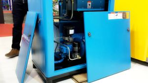 Pm Motor Permanent Magnet VFD Screw Air Compressors pictures & photos