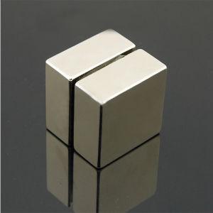 Custom Size Super Strong Permanent NdFeB Neodymium Block Magnet pictures & photos